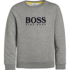 BOSS Kidswear Bluza graumeliert. Niebieskie bluzy chłopięce marki BOSS Kidswear, z bawełny. Za 379,00 zł.