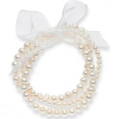 Bransoletka perłowa w kolorze białym. Białe bransoletki damskie marki Pearls Special. W wyprzedaży za 181,95 zł.