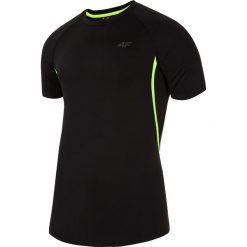 Odzież termoaktywna męska: Koszulka treningowa męska TSMF252 - głęboka czerń