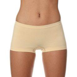 Bokserki damskie: Brubeck Bokserki damskie Comfort Cotton beżowe r.S (BX10470A)