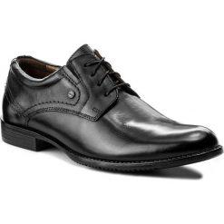 Półbuty LASOCKI FOR MEN - MB01-MARS-03 Czarny. Czarne buty wizytowe męskie Lasocki For Men, z materiału. Za 189,99 zł.
