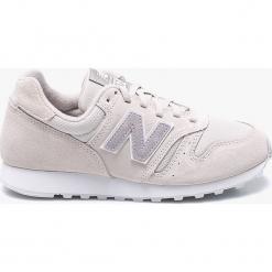 New Balance - Buty WL373MBB. Szare buty sportowe damskie New Balance, z materiału. W wyprzedaży za 249,90 zł.