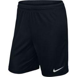 Nike Spodenki męskie Park II Knit Boys  czarny r. XL. Czarne spodenki sportowe męskie Nike, m. Za 39,00 zł.