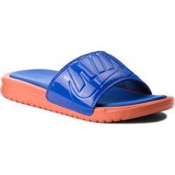 Klapki NIKE - Benassi Jdi Ultra Se AO2408 800 Vintage Coral/Racer Blue. Niebieskie klapki damskie marki NABAIJI, z kauczuku. W wyprzedaży za 179,00 zł.