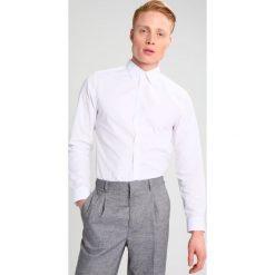 Koszule męskie na spinki: Burton Menswear London SLIM FIT Koszula biznesowa white