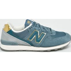 New Balance - Buty WR996FLP. Szare buty sportowe damskie New Balance, z materiału. W wyprzedaży za 299,90 zł.