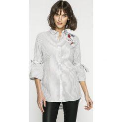 Sublevel - Koszula. Szare koszule damskie marki Sublevel, l, z haftami, z bawełny, casualowe, z klasycznym kołnierzykiem, z długim rękawem. W wyprzedaży za 99,90 zł.