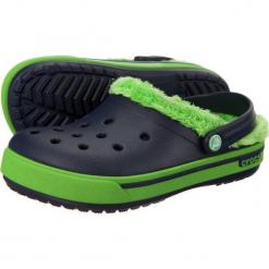 Buty dziecięce Crocband 2.5 Winter Clog navy/lime green r. 24-26. Niebieskie buciki niemowlęce Crocs. Za 99,64 zł.