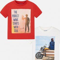 T-shirty męskie z nadrukiem: Mayoral – T-shirt dziecięcy (2-pack) 92-134 cm