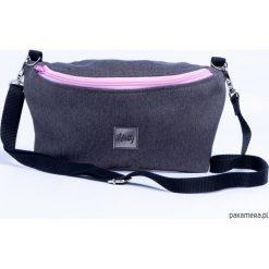 Mini torebka Nerka 2W1 Grey. Szare torebki klasyczne damskie Pakamera, z tkaniny. Za 85,00 zł.