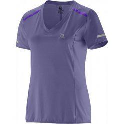 Salomon Koszulka Treningowa Park Tee W Artist Grey-X S. Szare bluzki sportowe damskie Salomon, s, z materiału. W wyprzedaży za 139,00 zł.