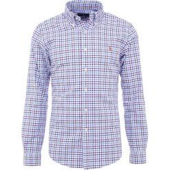 Polo Ralph Lauren OXFORD Koszula wine/blue. Szare koszule męskie marki Polo Ralph Lauren, l, z bawełny, button down, z długim rękawem. Za 509,00 zł.