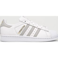 Adidas Originals - Buty Superstar. Szare buty sportowe damskie adidas Originals, z materiału. W wyprzedaży za 349,90 zł.