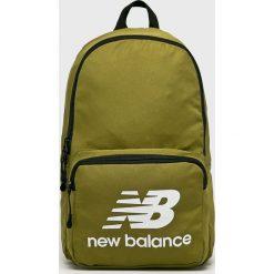 New Balance - Plecak. Zielone plecaki męskie New Balance, z poliesteru. Za 99,90 zł.