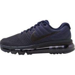 Nike Performance AIR MAX 2017 BG Obuwie do biegania treningowe binary blue/black/obsidian. Niebieskie buty sportowe chłopięce Nike Performance, z materiału. W wyprzedaży za 433,30 zł.