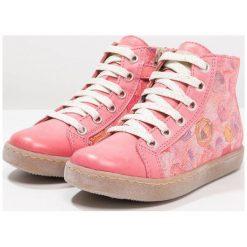 Froddo Tenisówki i Trampki wysokie fuxia/pink. Niebieskie buty sportowe dziewczęce marki Froddo, z materiału, na wysokim obcasie. Za 379,00 zł.