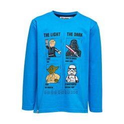 """T-shirty chłopięce z długim rękawem: Koszulka """"M-72365"""" w kolorze niebieskim"""