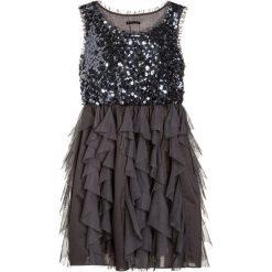 Sukienki dziewczęce z falbanami: Sisley DRESS Sukienka koktajlowa grey