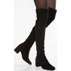 Högl Muszkieterki black. Czarne buty zimowe damskie marki HÖGL, z materiału. W wyprzedaży za 1199,20 zł.