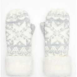Rękawiczki jednopalczaste - Kremowy. Białe rękawiczki damskie marki Cropp. Za 39,99 zł.