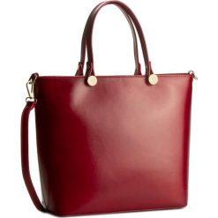 Torebka CREOLE - K10317  Czerwony. Czerwone torebki klasyczne damskie Creole, ze skóry. W wyprzedaży za 259,00 zł.