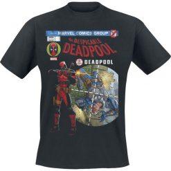Deadpool Despicable Cover T-Shirt czarny. Czarne t-shirty męskie z nadrukiem Deadpool, m, z okrągłym kołnierzem. Za 62,90 zł.