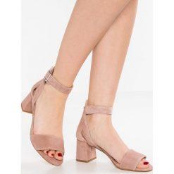 Rzymianki damskie: Shoe The Bear MAY  Sandały pale blush