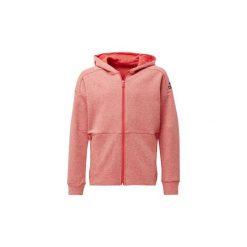 Bluzy dresowe Dziecko adidas  Bluza z kapturem ID Stadium. Czerwone bluzy chłopięce rozpinane marki Adidas, z dresówki. Za 160,30 zł.