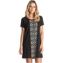 Roxy Koszulka For The Roses J Anthracite S. Brązowe bluzki sportowe damskie marki Roxy, s, z nadrukiem. W wyprzedaży za 139,00 zł.