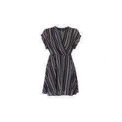 Sukienki krótkie Vero Moda  VMLAURA. Sukienki małe czarne marki Vero Moda, z bawełny. Za 159,20 zł.