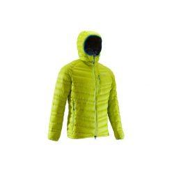 Kurtka alpinistyczna puchowa Light męska. Zielone kurtki męskie puchowe marki SIMOND, m, z materiału. Za 299,99 zł.