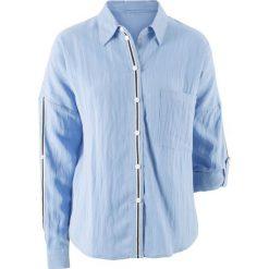 Bluzki damskie: Bluzka z kolekcji Maite Kelly bonprix perłowy niebieski
