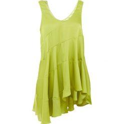 Elizabeth and James MAGDALONE Bluzka chartreuse. Zielone bluzki asymetryczne Elizabeth and James, z materiału. W wyprzedaży za 434,70 zł.