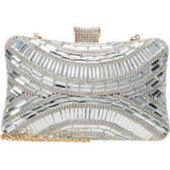 Puzderka: Glamorous Kopertówka silver mirror