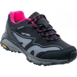 Buty trekkingowe damskie: Hi-tec Buty damskie Kangri black/shiny pink r. 39