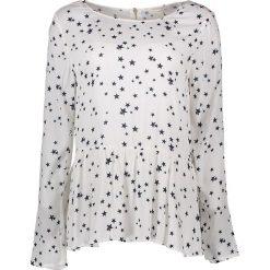 Bluzki asymetryczne: Koszulka w kolorze kremowym
