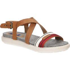 Sandały Wrangler Magnolia Sunshine WL171663. Brązowe sandały damskie Wrangler. Za 188,99 zł.
