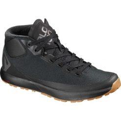 Buty trekkingowe męskie: Salomon Buty ACRO CHUKKA WR Magnet/Black/Black r. 43 1/3 (L40475000)