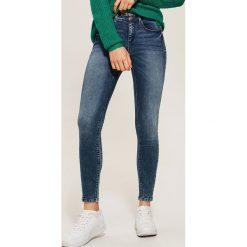 Jeansy skinny - Granatowy. Niebieskie boyfriendy damskie House, z jeansu. Za 89,99 zł.