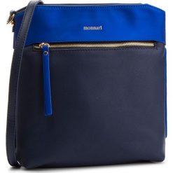 Torebka MONNARI - BAG3890-013 Navy With Blue. Niebieskie listonoszki damskie Monnari, ze skóry ekologicznej. W wyprzedaży za 159,00 zł.