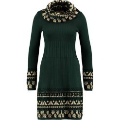 Sukienki: Derhy JAGUAR  Sukienka dzianinowa vert