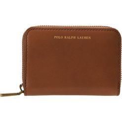 c49d69b94a2e7 Polo Ralph Lauren AMY ZIP WALLET Portfel saddle. Brązowe portfele damskie  Polo Ralph Lauren