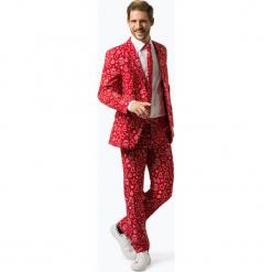OppoSuits - Garnitur męski z krawatem – Iconicool, czerwony. Czerwone garnitury OppoSuits. Za 379,95 zł.