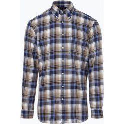 Andrew James - Koszula męska – Two Ply, niebieski. Niebieskie koszule męskie Andrew James, m, z tkaniny, z podwójnym kołnierzykiem. Za 179,95 zł.