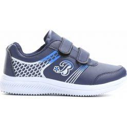 Granatowe Buty Sportowe Your Home. Niebieskie buty sportowe chłopięce Born2be, z materiału, z okrągłym noskiem. Za 49,99 zł.