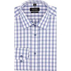 Koszula versone 2706 długi rękaw slim fit niebieski. Niebieskie koszule męskie na spinki Recman, m, z długim rękawem. Za 149,00 zł.