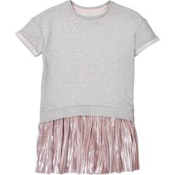Sukienki dziewczęce: Sukienka z dwóch materiałów, 3-12 lat