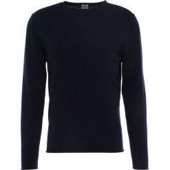 Swetry klasyczne męskie: FTC Cashmere Sweter midnight