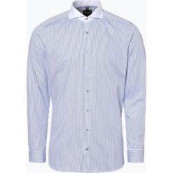 Olymp Level Five - Koszula męska łatwa w prasowaniu, niebieski. Niebieskie koszule męskie non-iron marki OLYMP Level Five, m, w paski. Za 249,95 zł.