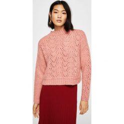 Swetry klasyczne damskie: Mango – Sweter Calado
